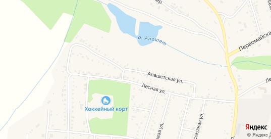 Апашетская улица в Алзамае с номерами домов на карте. Спутник и схема онлайн