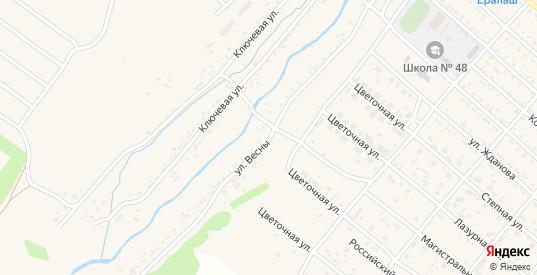 Улица Весны в Нижнеудинске с номерами домов на карте. Спутник и схема онлайн