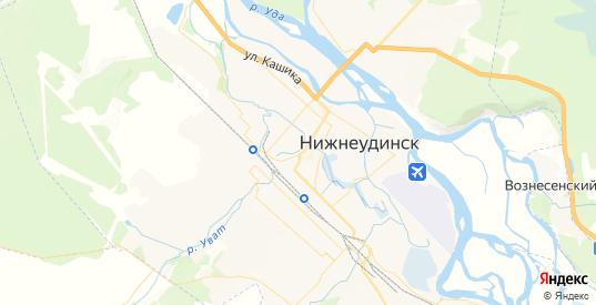 Карта Нижнеудинска с улицами и домами подробная. Показать со спутника номера домов онлайн