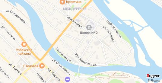 Улица Демьяна Бедного в Нижнеудинске с номерами домов на карте. Спутник и схема онлайн