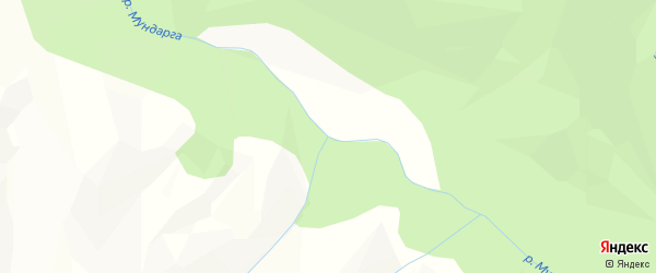 Карта местечка Мундарги в Бурятии с улицами и номерами домов
