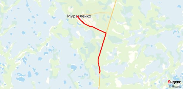 маршрутка муравленко ноябрьск расписание