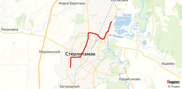 Маршрут на карте