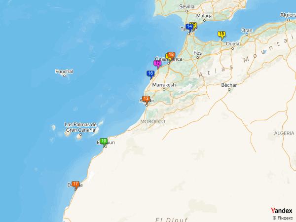 coal to Morocco