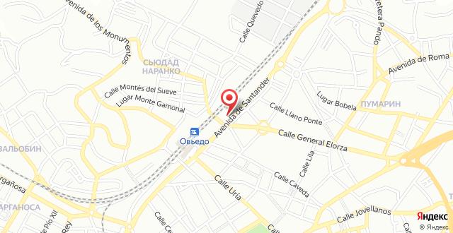 Exe Oviedo Centro на карте