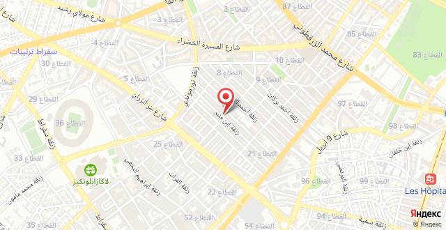 Inspiring Casablanca maarif на карте