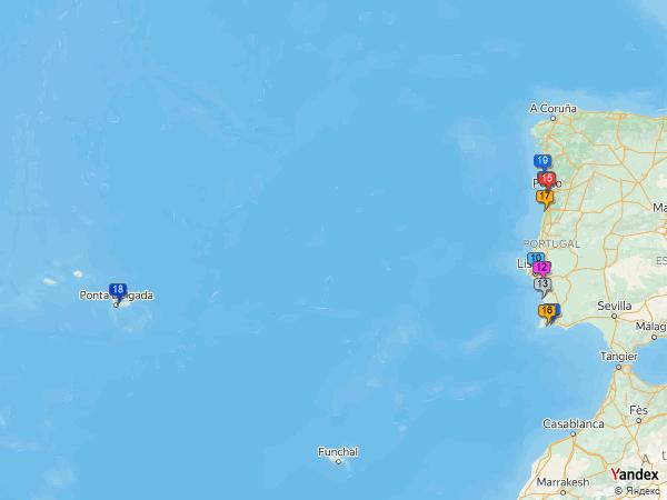 Crude oil to Portugal