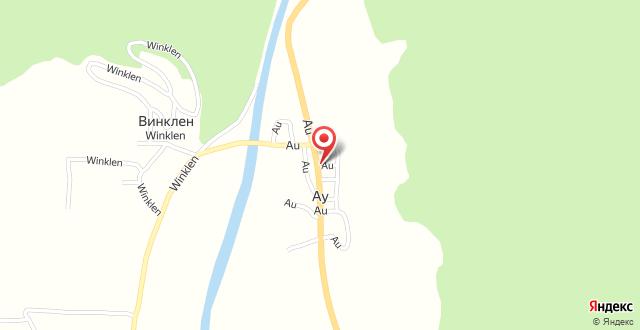 Hotel Bergwelt на карте