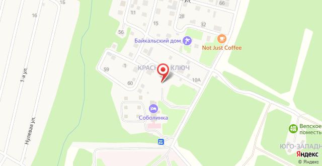 Парк-Отель Белый Соболь на карте