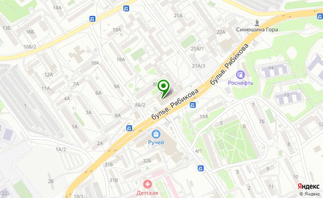 Сбербанк Иркутск бульвар Рябикова 20Б карта