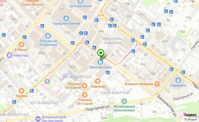 Сбербанк Иркутск ул. Байкальская 8 карта