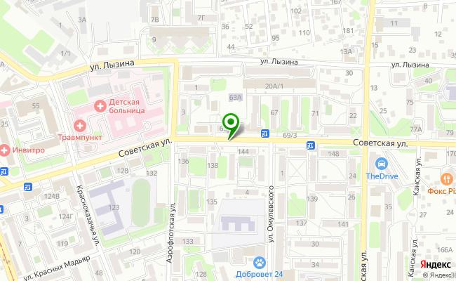 Сбербанк Иркутск ул. Советская  карта