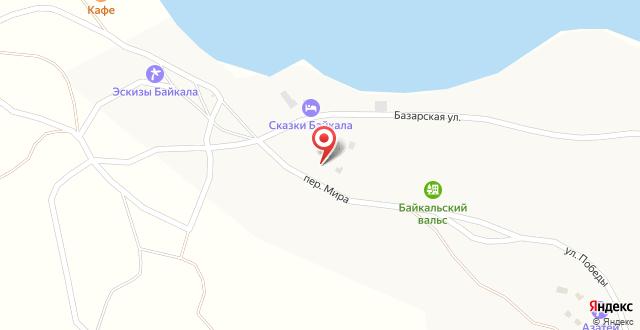 Гостевой дом Гагарин Хаус на карте