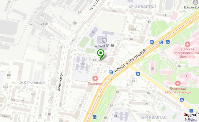Сбербанк Улан-удэ проспект Строителей 18 карта