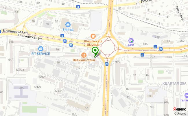 Сбербанк Улан-удэ ул. Ключевская 70А карта