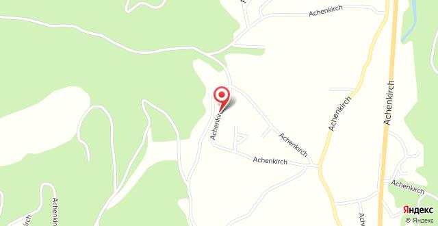 Hotel Achentalerhof на карте