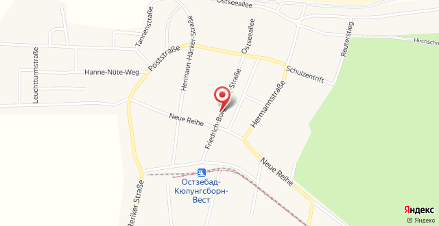 Ferienhaus Friedrich-Borge-Straße на карте