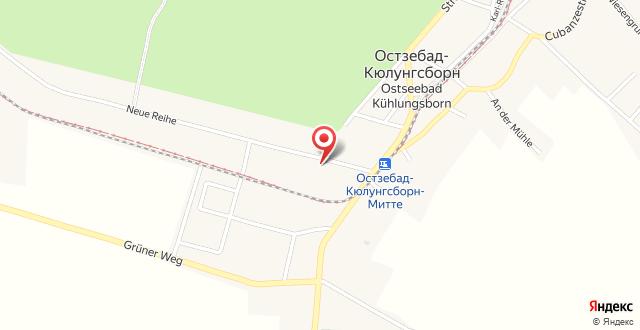 Ferienwohnung Dünensand на карте