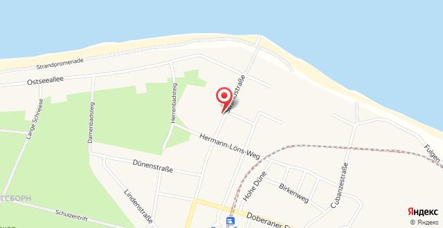 Appartementhaus Mecklenburg на карте