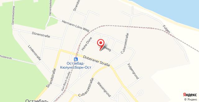 Ferienhäuser - Doberaner Straße на карте