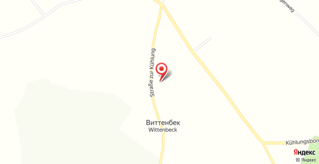 Das Landhotel Wittenbeck на карте