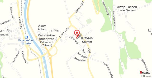 Appartementhaus Kaltenbach-Stumm на карте