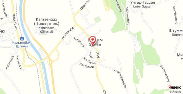 Das kleine Hotel Ortner на карте