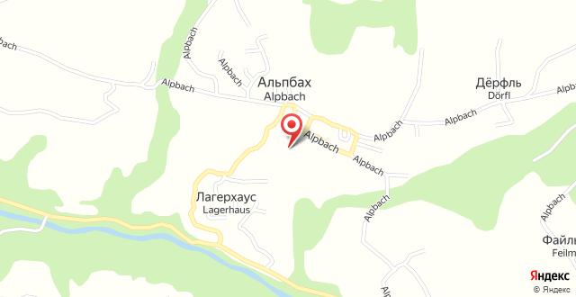 Hotel Andreas на карте