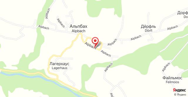 Aparthaus Alpbach Juwel на карте