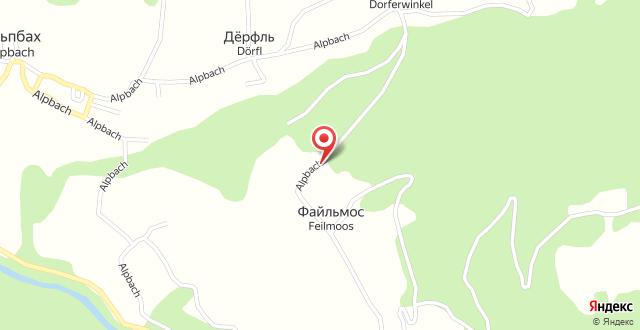 Bergwald на карте