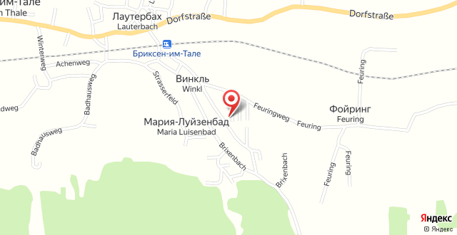 Landhaus Bachler на карте