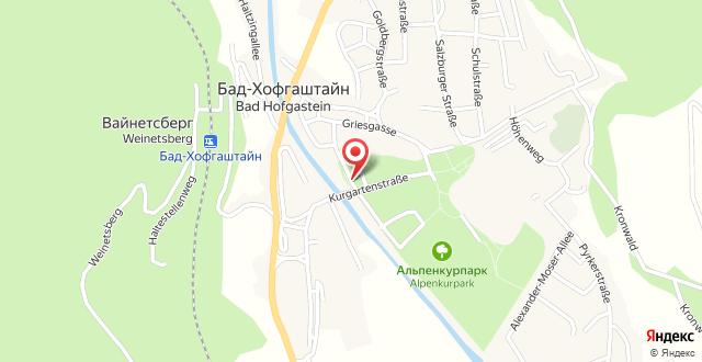 Johannesbad Hotel St. Georg на карте