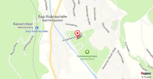Appartementhaus Gastein на карте