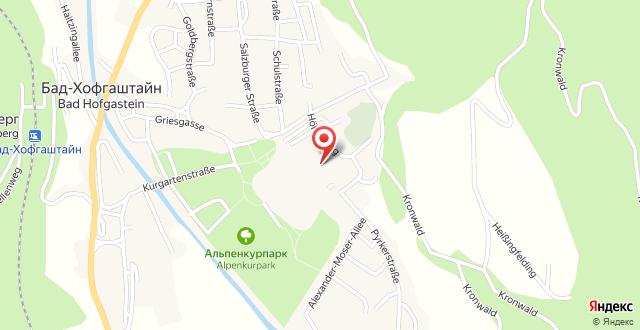 Alte Post Wellness & Thermalhotel на карте