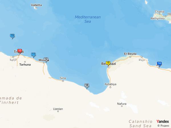 coal to Libya