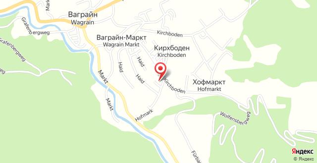 Frühstückspension Café Wagrain - Familie Flasch на карте