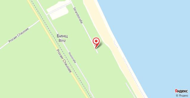 Villa Strandblick на карте