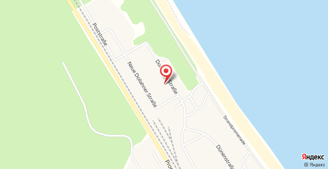 Dünenpark Binz by Rujana на карте