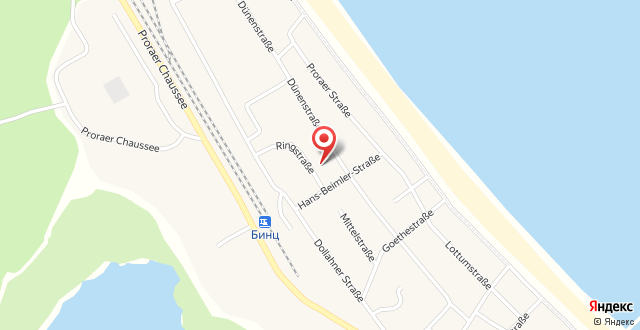 Strandruh Apartments на карте