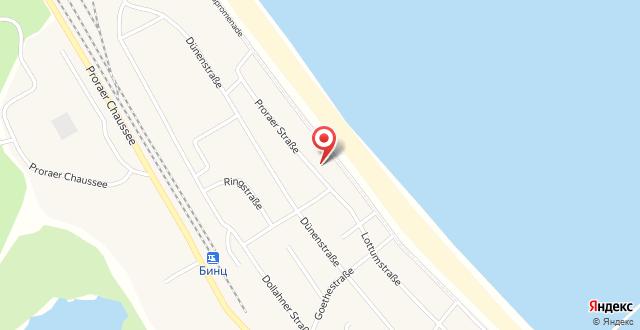 Arkona Strandhotel на карте