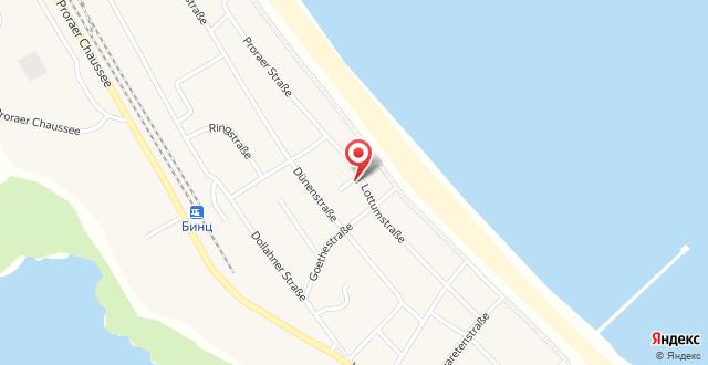 Haus Concordia Wohnung Göhren на карте