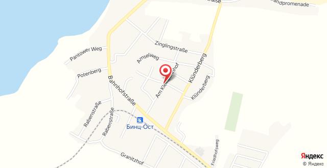 Haus Sonnenhügel на карте