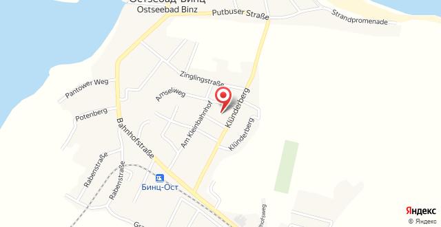 Two-Bedroom Holiday Home in Binz (Ostseebad) I на карте