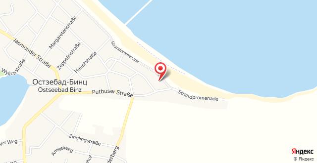 Ferienwohnung Pusteblume - Villa Stranddistel на карте