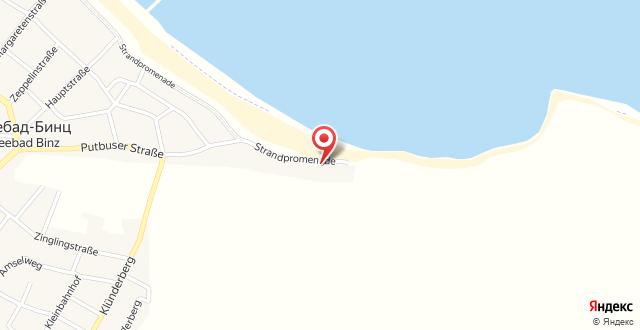 Villa Strandperle на карте