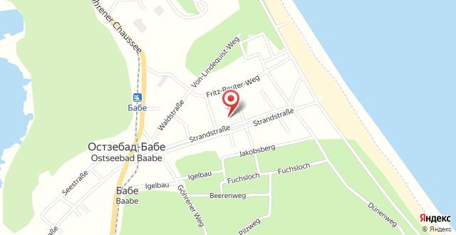 Ferienwohnung Seestern на карте