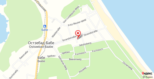 Apartmentanlage-Strandhotel на карте