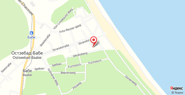 Haus Strandkiefer на карте