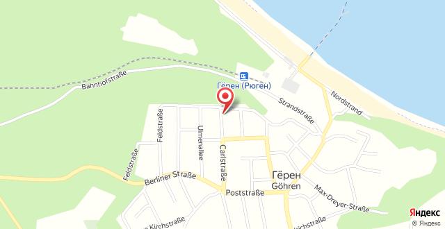 Rügener Ferienhäuser am Hochufer на карте
