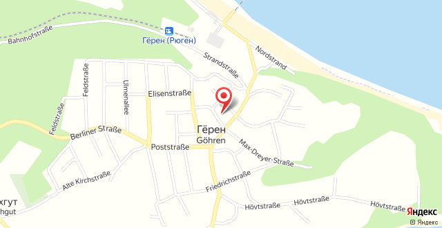FeWos in Göhren D 093.028-29 на карте